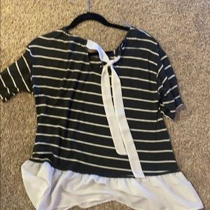 West Kei Tops - Dressy shirt with bow in the back!